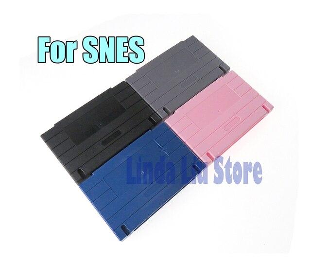 คุณภาพสูงเกมเปลี่ยนพลาสติกการ์ดสำหรับ Nintendo สำหรับเกมคอนโซล SNES ChengChengDianWan