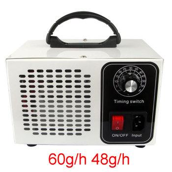 Generator ozonu 60 g h Generator ozonu rozrządu oczyszczacz powietrza filtr powietrza dezynfekcji sterylizacji czyszczenia formaldehydu 220V 110V tanie i dobre opinie VOSOCO 51-150m ³ h CN (pochodzenie) 220 v 12g h 36g h 48g h 60g h 41-60 ㎡ Przenośne 99 10 Źródło A C 99 00 ≤30dB