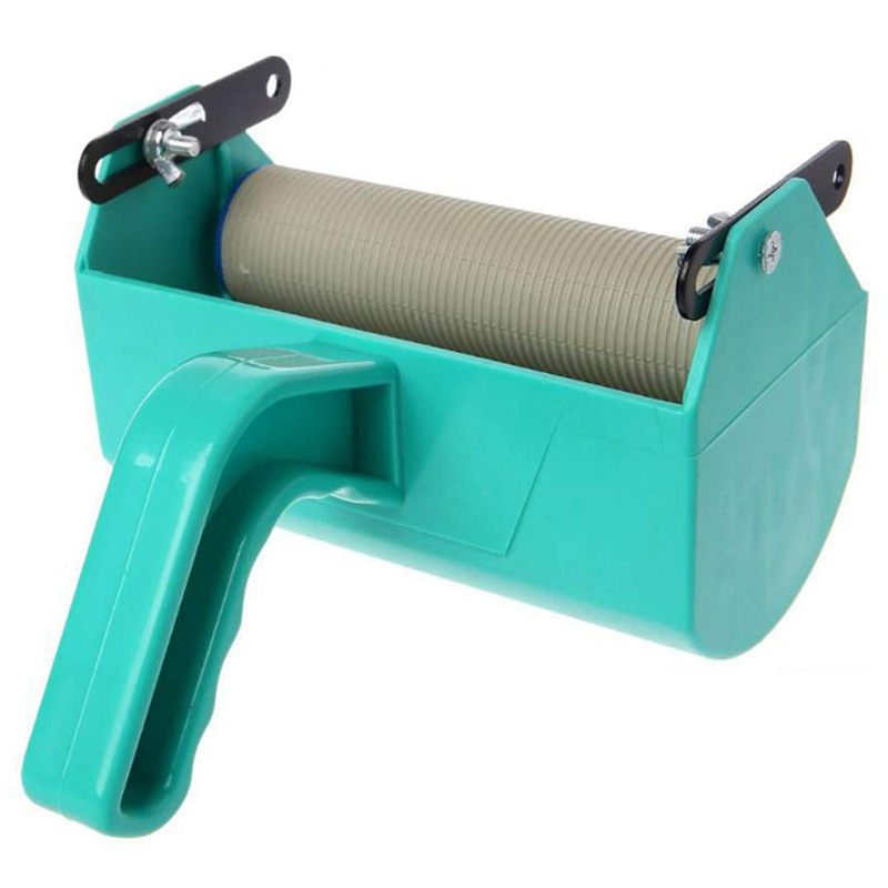 Monochrome New Painting For Embossed With Wall Decoration Roller Decorative Plastic Brush Pattern Texture Machine With Handle