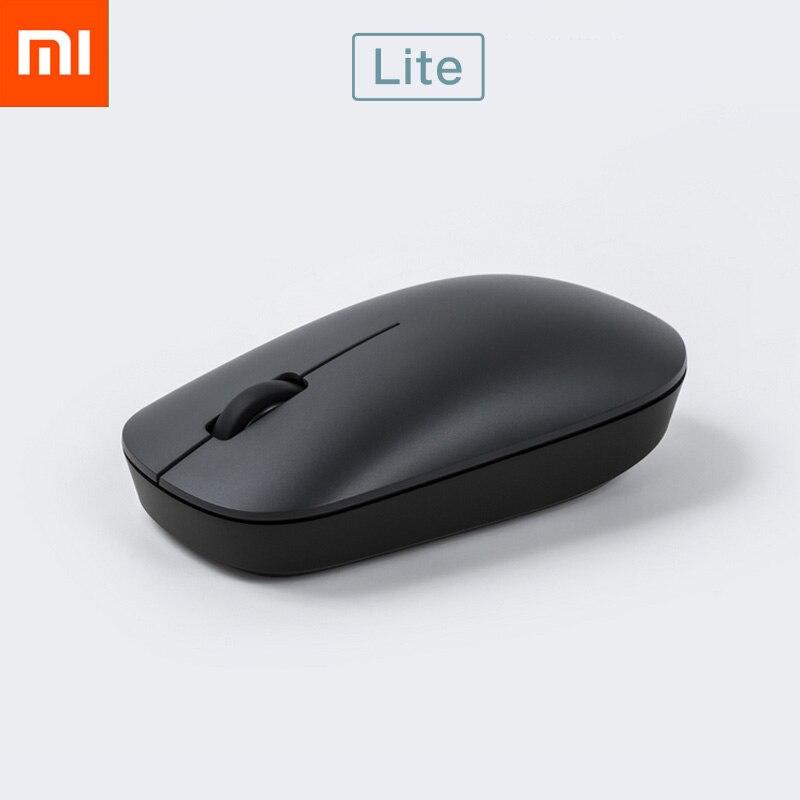 Новинка, Xiaomi, беспроводная мышь Lite, 2,4 ГГц, 1000 dpi, эргономичная оптическая портативная компьютерная мышь, USB приемник, офисные Игровые Мыши для ПК, Lap|Мыши|   | АлиЭкспресс