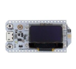 Image 4 - Sx1276 sx1278 esp32 lora 868 mhz/915 mhz/433 mhz 0.96 인치 블루 oled 디스플레이 블루투스 wifi 키트 32 개발 보드