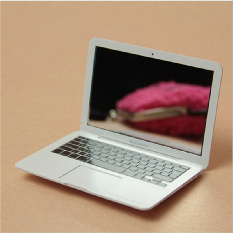 Portable Little High Quality Mini Mac Makeup Mirror For Apple Notebook Macbook Shape Air Apple Computer Portable Creative Mirror