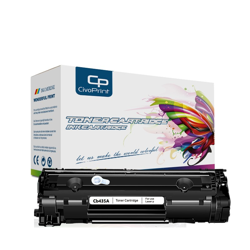 Civoprint CB435A 35A CB 435A CB435 435 A <font><b>toner</b></font> cartridge for <font><b>HP</b></font> LaserJet P1005 <font><b>P1006</b></font> P 1005 1006 P1009 printer powder image