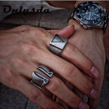 Бесплатная доставка Нержавеющая сталь Для мужчин, в готическом стиле, в байкерском стиле Винтажное кольцо в стиле панк Спартанский маска шл...