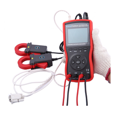 ETCR4200A Full-automatic Intelligent Double Clamp Phase Sequence Meter with RS232 interface Digital Volt-Ampere Meter стоимость