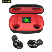 Bluetooth Earphone V5.0 W4 TWS Stereo Sport Wireless in-ear Noise-Reduction Earbuds Headset fun7 tws wireless bluetooth dual in ear mini earphone stereo earbuds noise reduction headphone for dacom iphone7 airpods