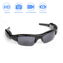 цена на HD1080P Sunglasses Headset Smart Mini Camera  DVR Video Recorder Glasses Multifunctional For Sports Cycling Accessories
