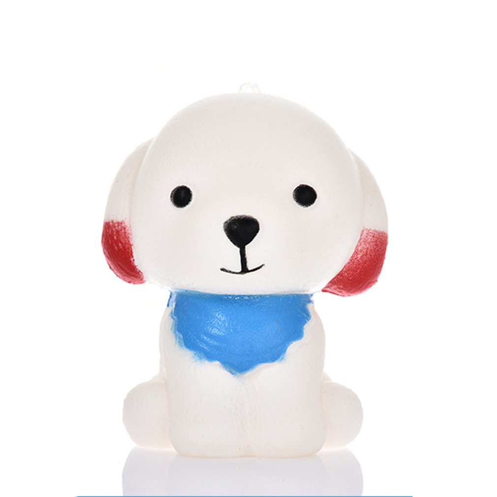 Cute Cartoon Puppies Scented Dogs Soft PU Slow Rising Squeeze Decompression Toys Kids Adult Stress Reliever Toys