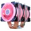 3 Fan LED 4pin Red