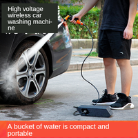 2020 High Pressure Car Washing Machine Wireless Household Auto Cleaning Machine Automotive Washer Device With Washing Water Gun
