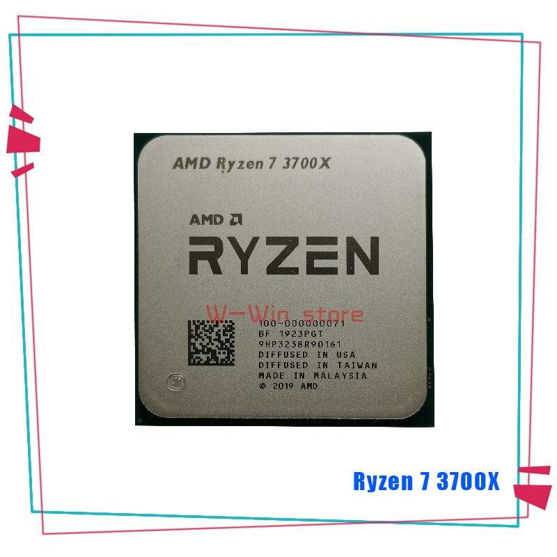 AMD Ryzen 7 3700X R7 3700X 3.6 GHz 7NM L3=32M 100-000000071 Eight-Core Sinteen-Thread CPU Processor Socket AM4 1