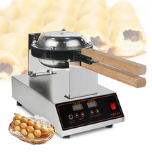 цена на Digital Egg Waffle maker Bubble Commerical HongKong Egg Waffle Machine 220V