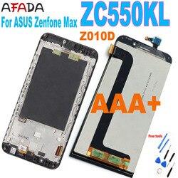 Original For ASUS Zenfone MAX ZC550KL Z010D Z010DA LCD Display + Touch Screen Digitizer Panel Sensor Module Glass Assembly