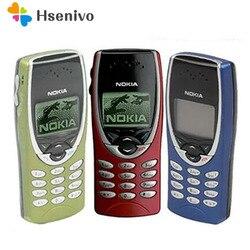 8210 الأصلي نوكيا 8210 مقفلة الهاتف المحمول 2G Dualband GSM 900/1800 جي بي آر إس الكلاسيكية رخيصة هاتف محمول تجديد