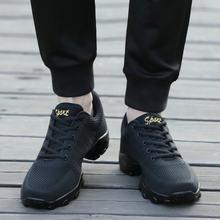 Сетчатая джазовая обувь; Мужские современные танцевальные кроссовки