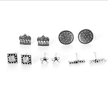 2019 Stud Earring Pendientes Earing Aretes De Mujer Earrings For Women Earings Fashion Jewelry Gothic Set Brincos