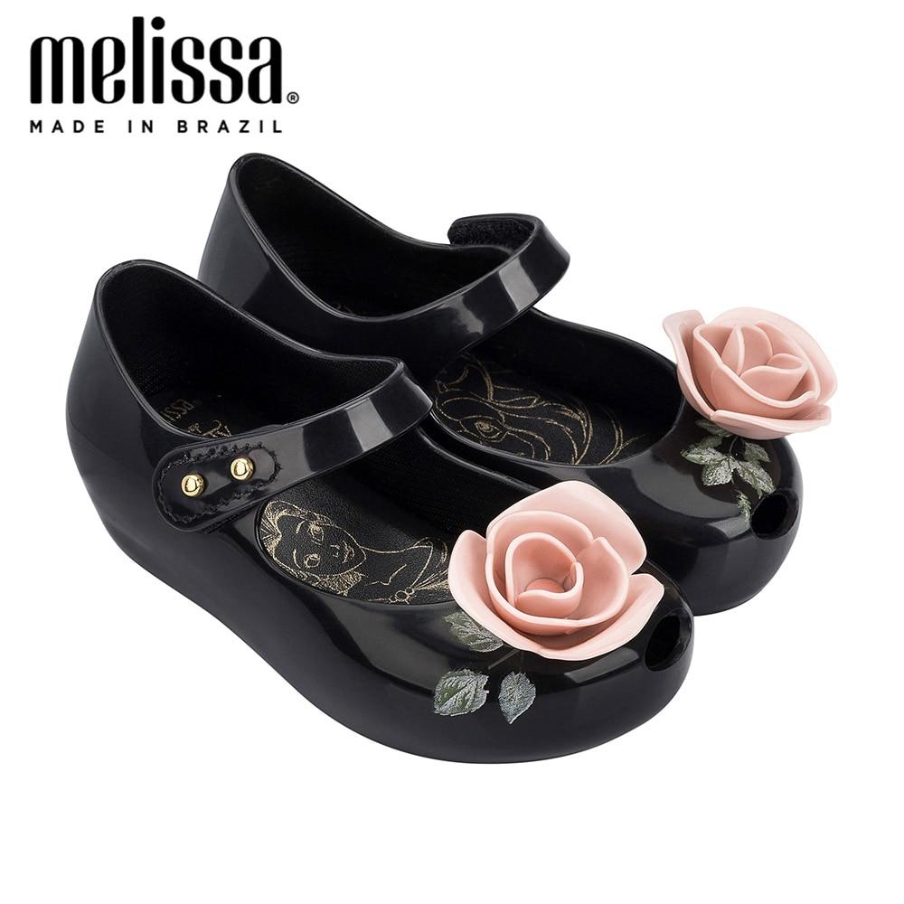 Mini Melissa Ultragirl-sandales pour filles | Chaussures de gelée, sandales d'été, en gelée, pour petits