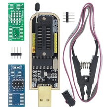 I21 CH341A 24 25 Series EEPROM Flash BIOS USB Programmer Module + SOIC8 SOP8 Test Clip For EEPROM 93CXX / 25CXX / 24CXX DIY KIT