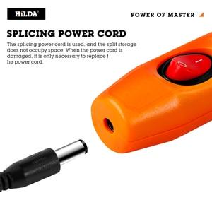 Image 3 - HILDA Mini Trapano Rotary tool 12V Incisione Penna Con Accessori di Macinazione Set Multifunzione Mini Penna Incisione Per Dremel strumenti