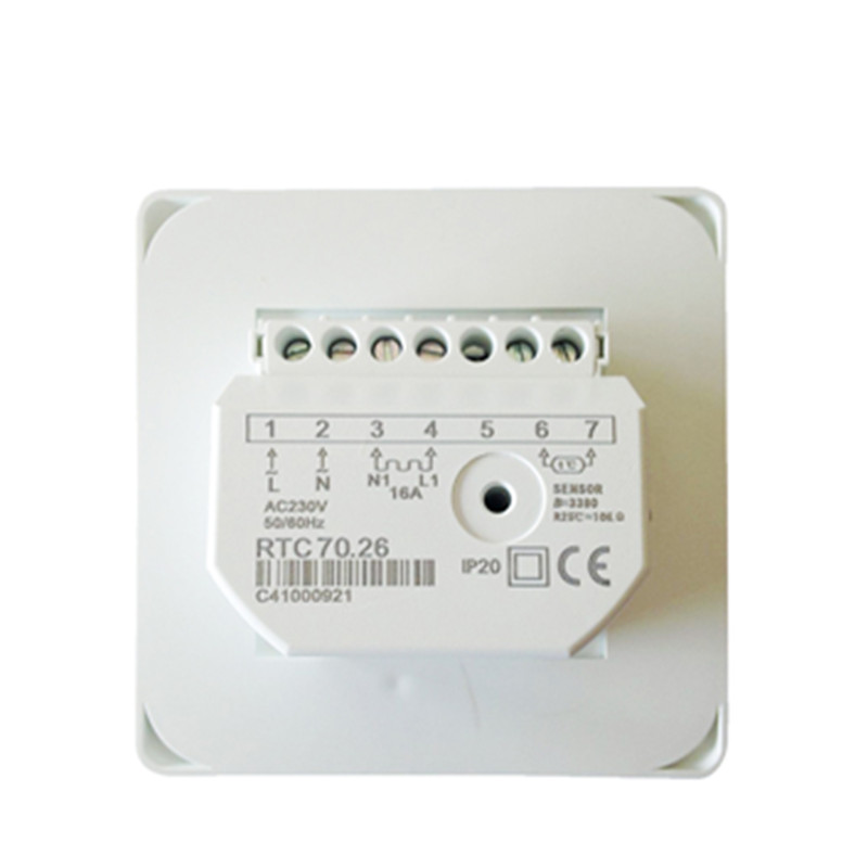 Temperature-Controller Floor-Cable Heat Electric-Floor Warm 220V M5 16A Manual-Room Best-Price