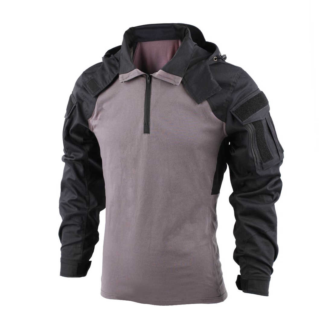 NewBACRAFT, camisa táctica, uniforme de combate, equipo para exteriores, versión SP2, negro, gris, M/L/XL