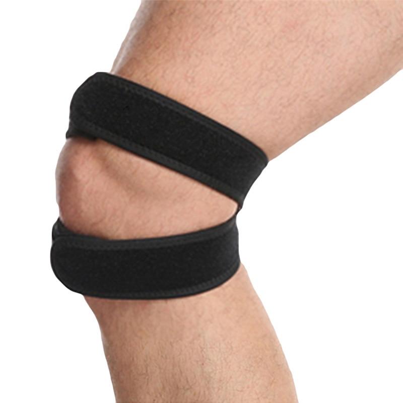 1 PC  Knee Brace Protector Sport Tool Fully Adjustable Strap Sport Knee Pad Belts