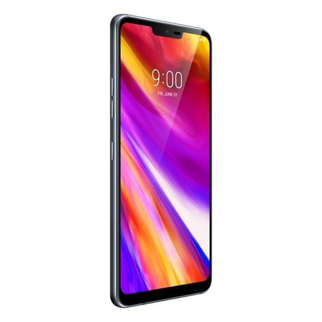 "Desbloqueado lg g7 thinq g710n 64g snapdragon 845 lte android octa núcleo câmera traseira dupla 16mp 2160p 6.1 ""telefone móvel 3"