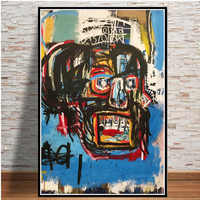 Canvas Painting Posters And Prints Pictures On The Wall Jean Michel Graffiti Modern Artist Abstract Decorative Home Decor Plakat