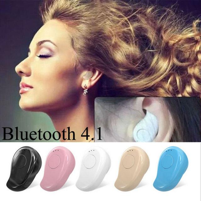 2019 Mini Wireless Bluetooth 4 1 Stereo In Ear Headset Earphone Sports Earbud Earpod For