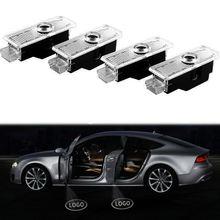 4 шт двери автомобиля проекционный светильник лазерный новый