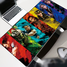 Avengers Large Size Mouse pad Gamer 70x30cm Iron Man Skid Locking Edge Durable Mousepad Notebook Office Mat Desk mat Portable