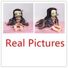 Kimetsu no Yaiba Nezuko figurine modèle jouet 65mm Anime démon tueur Figure Nezuko mignon jouets