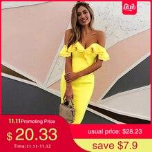 Dress Runway Bandage Vestidos