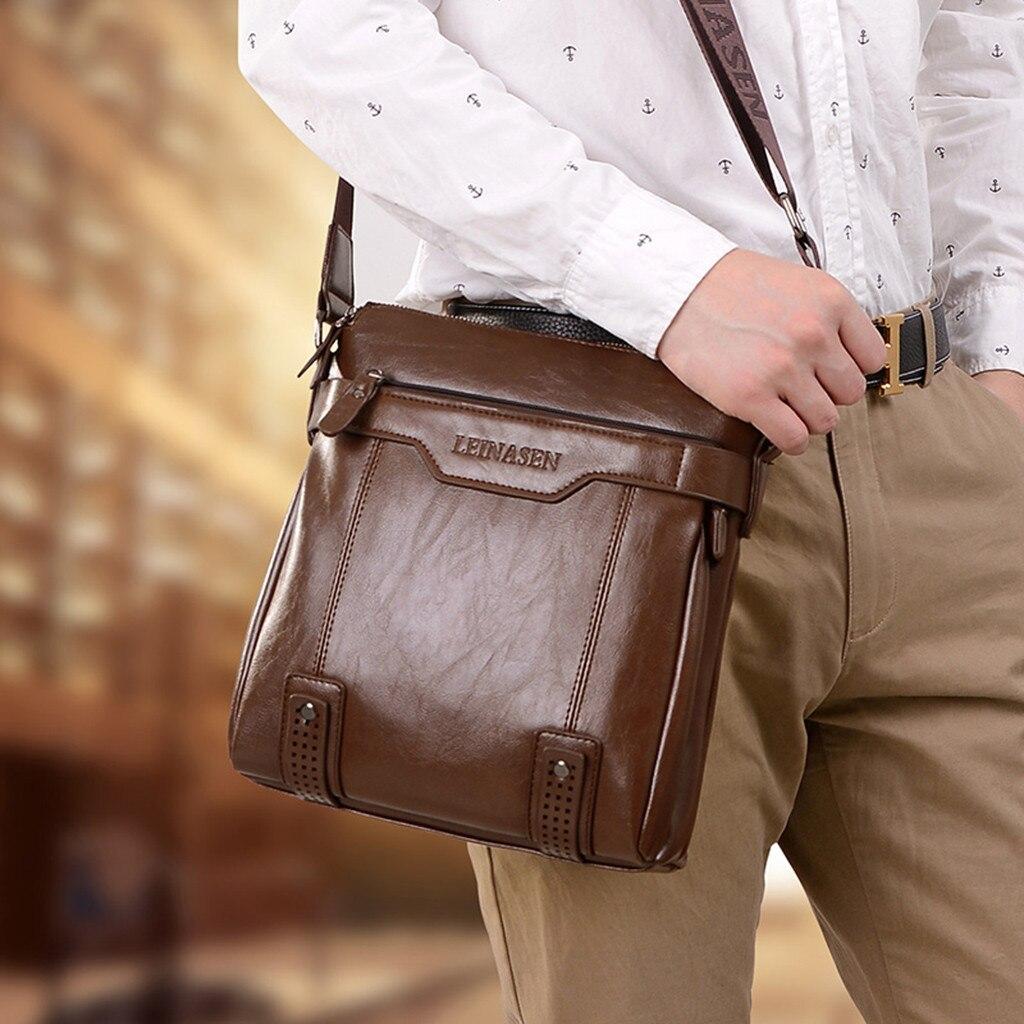 Men Casual Crossbody Bags Men Handbag Top Quality Male Wallet Set Shoulder Bags Maleta