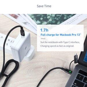 Image 3 - Mcdodo 60W USB 유형 C 케이블 USB C PD IPhone Xs Max XR X IPad Pro Macbook 화웨이 삼성 2 In 1 충전기