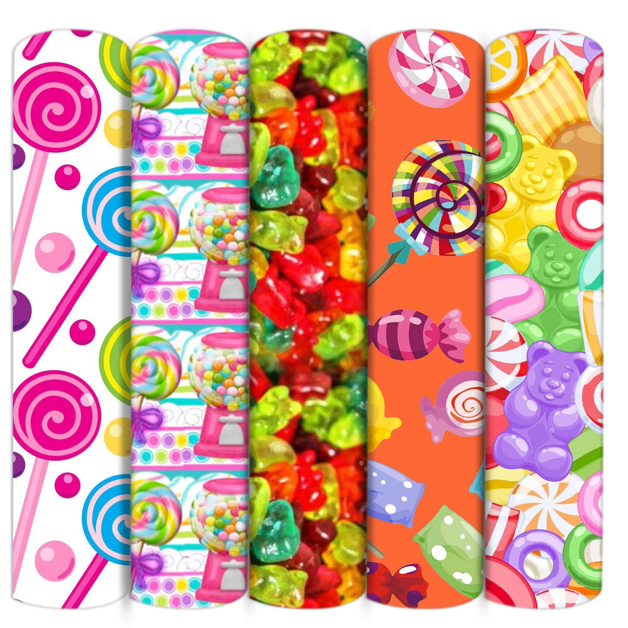Леденец Конфеты полиэфир хлопчатобумажной ткани, из кусков, для шитья кукол стеганые ткани рукоделие Материал домашний текстиль, c16103