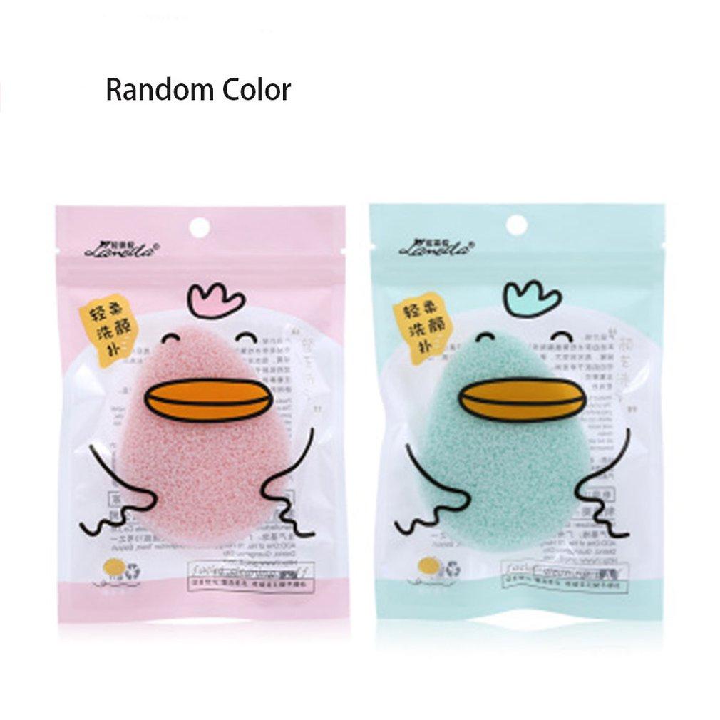 Lameila Cosmetic Sponge Walnut Wash Face B2163 Soft Sponge Durable Girls Cosmetic Tools Practical