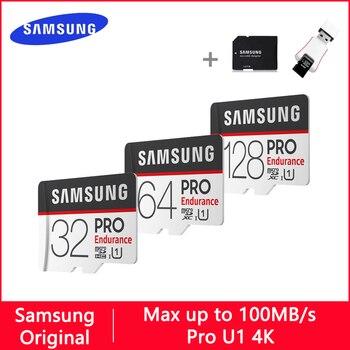 SAMSUNG PRO Micro SD 128GB 32GB 64GB U1 4K Class 10 Memory Card 32 64 GB Micro SD Card SD/TF Flash Cards microSD Carte for Phone