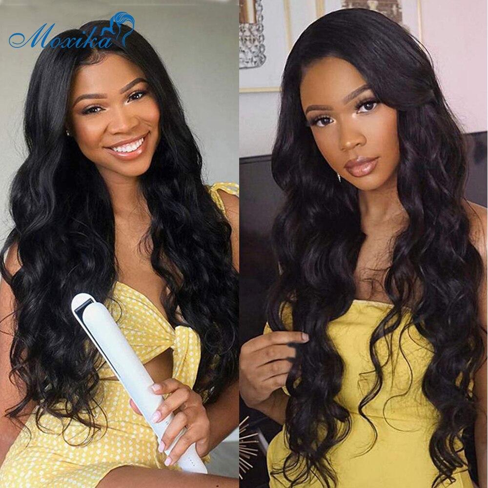 Moxika Brazilian Body Wave Hair Weave 3 Bundles Deal 100% Remy Human Hair Bundles Extensions 8
