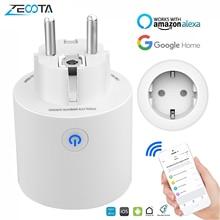 Wifi Smart Power Plug Outlet EU Electrical Sockets Timing Homekit Voice Smartlife APP Remote Control by Tuya Alexa Google Home