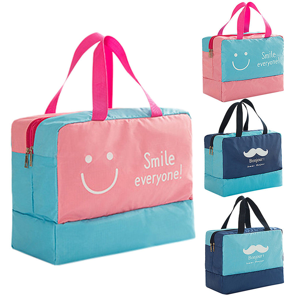 Dry And Wet Bags Mens And Womens Rule Travel Bags,Wash Bags Separate Bags
