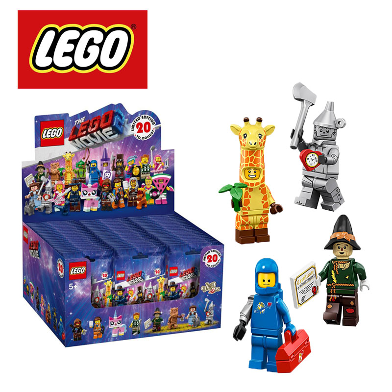 2019 LEGO Minifigures The Movie 2 71023 Building Kit (1 Minifigure) Building Blocks DIY Educational Children Birthday Gifts