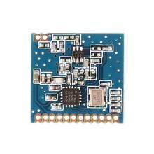 CLIATE Wireless Transceiver Modul 433MHz LoRa 1000M RF Sender Empfänger Frühling Antenne Abstand SI4438/SI4432