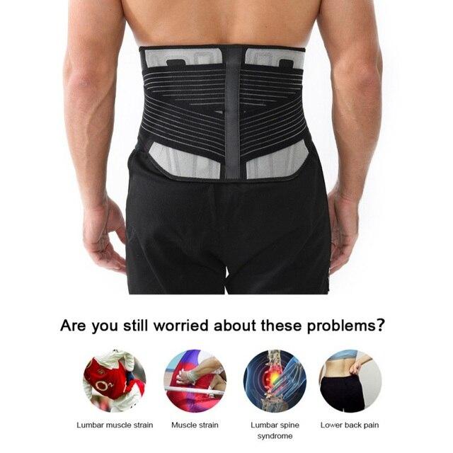 2020 Hot Sale Waist Trainer & Trimmer Sweat Belt For Men & Women Fitness Shapewear Wrap Tummy Stomach Weight Loss Fat 3