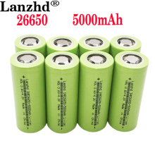 1-10PCS New batteries 26650 rechargeable battery 50A lithium battery 3.7V 5000mA Suitable for Power Tools