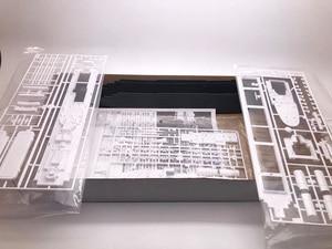 Image 4 - 1:550 RMS تايتانك نموذج بناء مجموعات التجمع نموذج باخرة بلاستيكية مع محرك كهربائي جهاز الإضاءة الكهربائية لعبة تايتانك