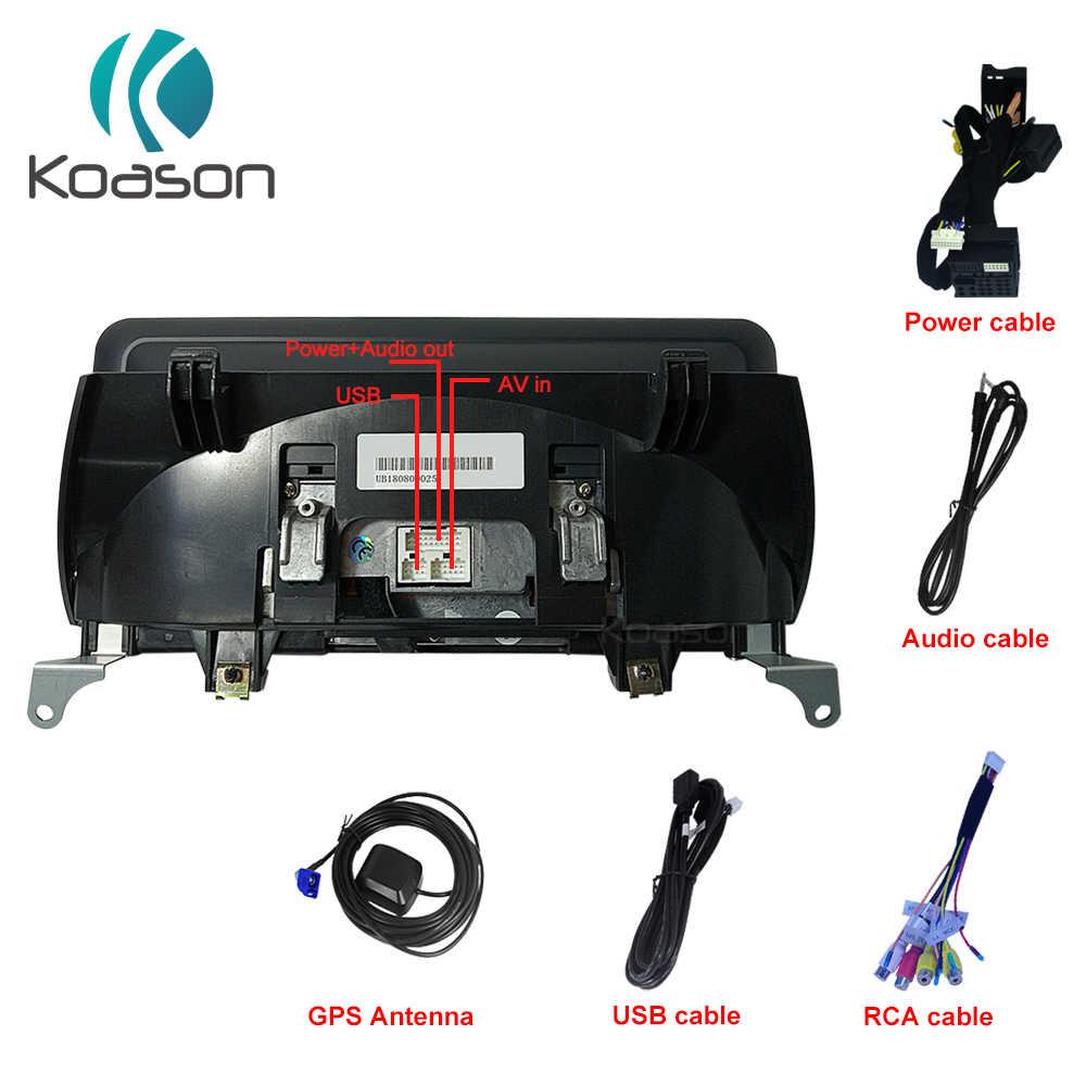 Koason E70 E71 2011-2013 4+64GB 10.25 Screen Display Monitor Android 9.0 Auto Video Multimedia Player GPS Navigation for BMW X5 X6 X5M X6M CIC