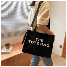Women Canvas Shoulder Bag Love Philosophy Daily Shopping Bags New Canvas Books Bag Thick Cotton Cloth Handbags Tote For Ladies