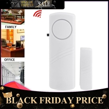 Door Window Wireless Burglar Alarm With Magnetic Sensor Home Safety Wireless Longer System Security Device