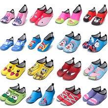 Summer Cartoon Toddler children beach shoes barefoot soft sole Quick-Dry Non-Sli